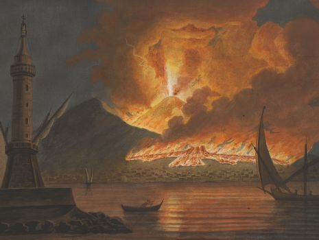 [Eruption des Vesuv vom 20. Oktober 1767], William Hamilton: Campi Phlegraei