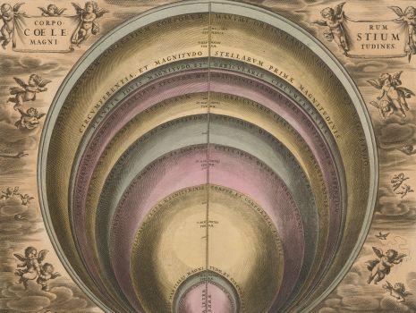 Corporum coelestium magnitudines, Andreas Cellarius: Harmonia macrocosmica