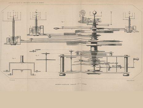 Planetarium, Pierre Dubois: Histoire de l'horlogerie depuis son origine jusqu'à nos jours