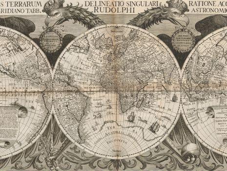 Nova Orbis Terrarum, Johannes Kepler: Tabulae Rudolphinae