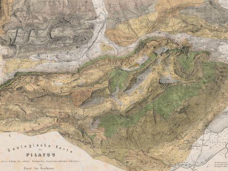 Geologische Karte des Pilatus, Geologische Karte des Pilatus