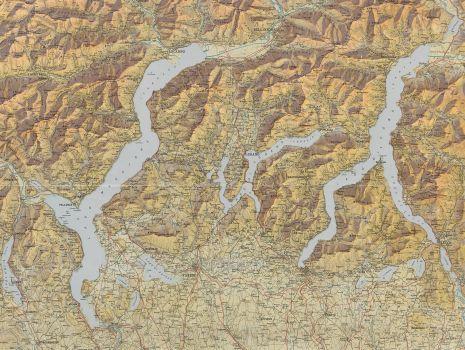 Die Oberitalienischen Seen und ihr Excursionsgebiet, Fridolin Becker: Die Oberitalienischen Seen und ihr Excursionsgebiet