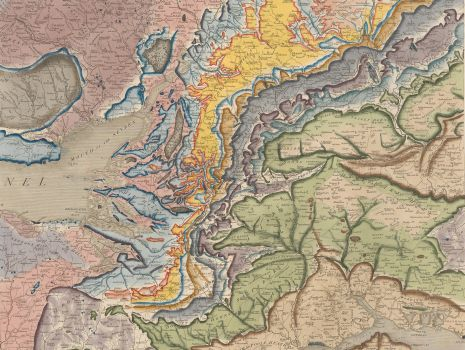A delineation of the strata of England and Wales, with part of Scotland, William Smith: A delineation of the strata of England and Wales, with part of Scotland