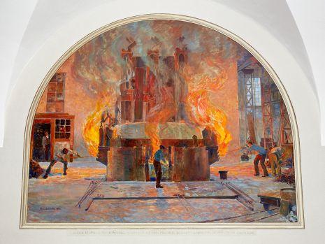 REST_20160803, AG der Eisen- und Stahlwerke, vormals Georg Fischer Schaffhausen, Elektrischer Ofen 4500 KW. Wilhelm Ludwig Lehmann, 1930