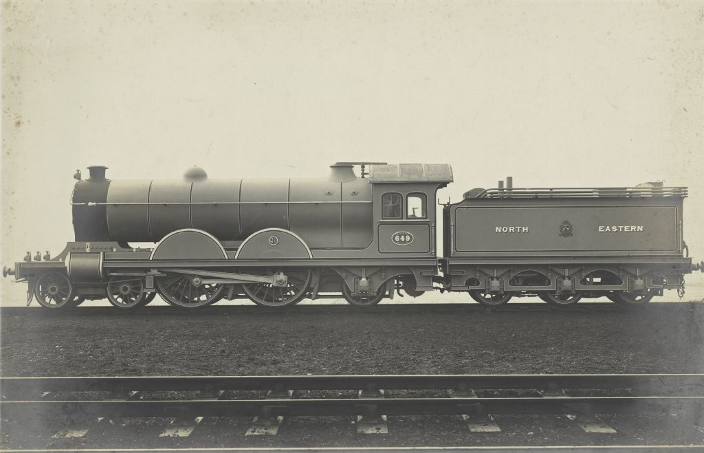 North Eastern Railway, class V, Achsfolge 4-4-2 (Atlantic), Design Wilson Worsdell, no. 649