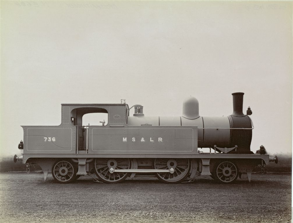Neilson and Company Glasgow E684 4380, Manchester Sheffield & Lincolnshire Railway (MS&LR) 736