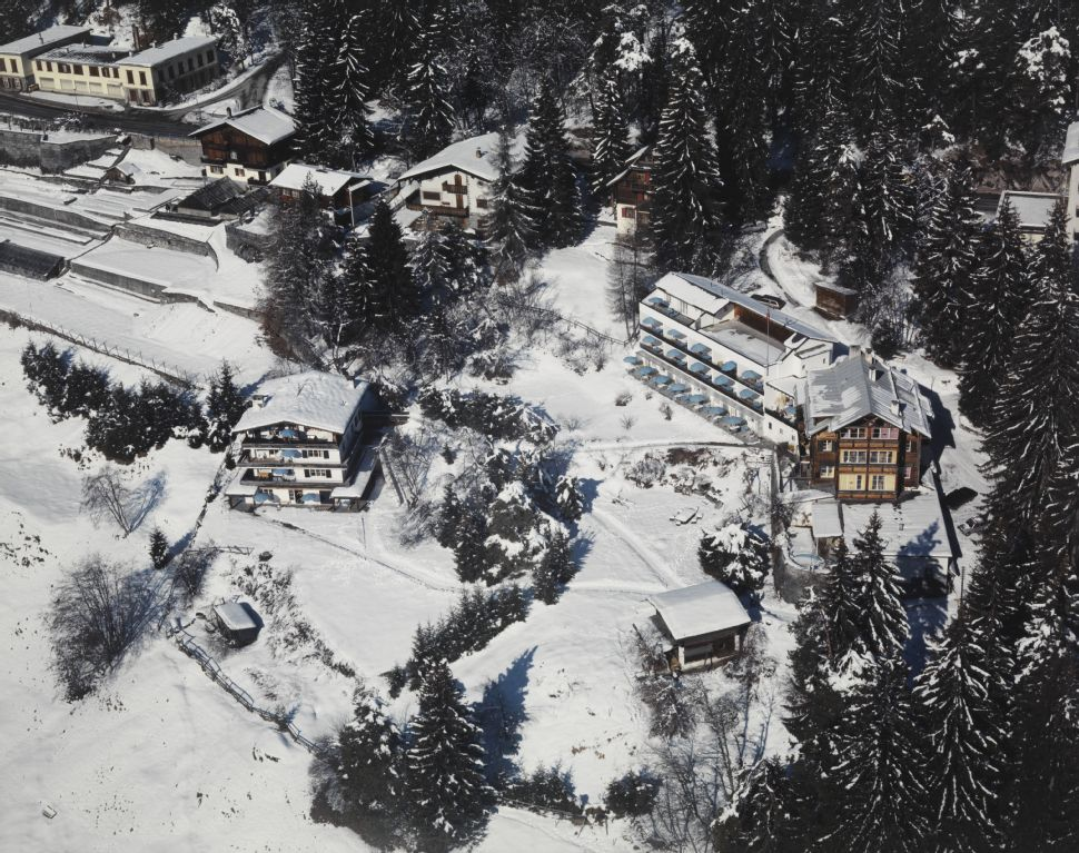 Flims, Haus am Waldrand